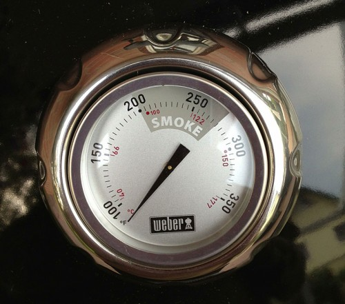 Thermometer Weber Smokey Mountain