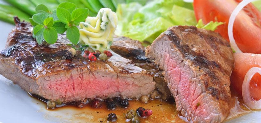 Garstufen Steak